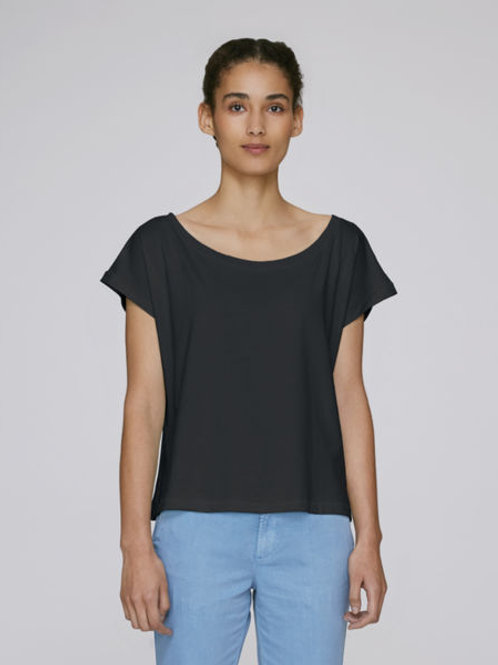 T-Shirt Col Ouvert B by BLACK HAZE