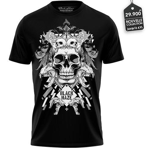 SKULL 33 B T-Shirt by BLACK HAZE