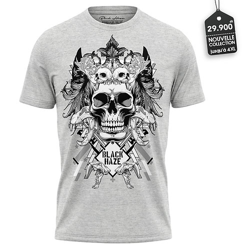 SKULL 33 G T-Shirt by BLACK HAZE