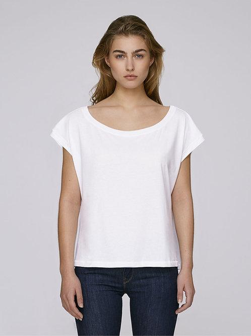 T-Shirt Col Ouvert W by BLACK HAZE Essential