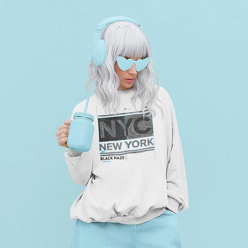 New York SweatShirt by BLACK HAZE