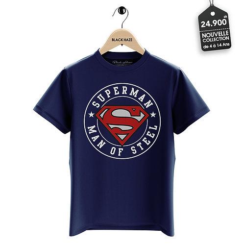 SUPERMAN Black T-Shirt