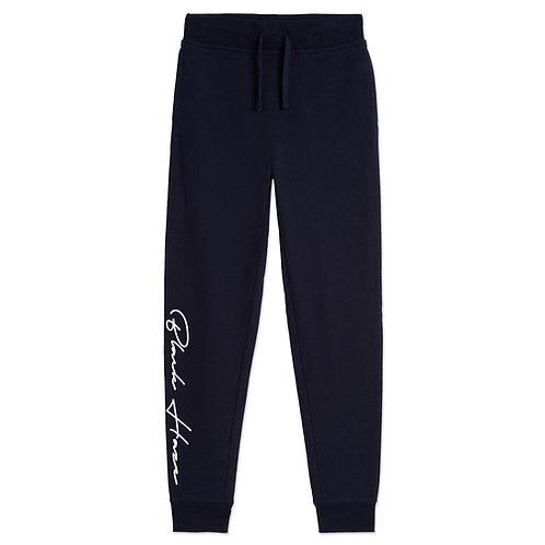 Washed Blue Vintage Jogger Sweatpants