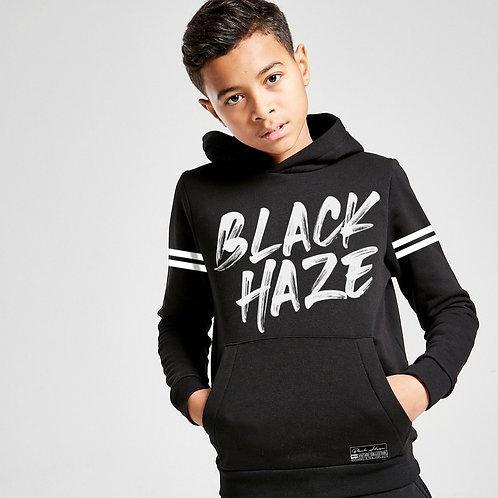 Hoodie Stripe Deep BLACK