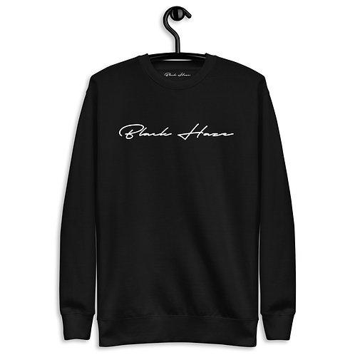Classic Black SweatShirt by BLACK HAZE