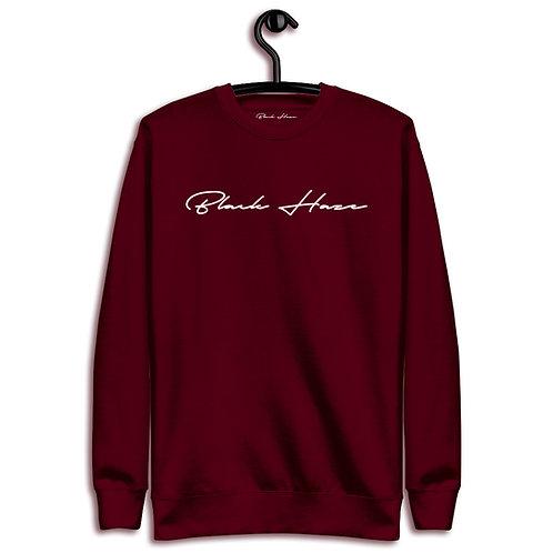 Classic Red SweatShirt by BLACK HAZE