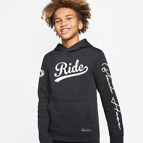 Hoodie Ride Deep BLACK