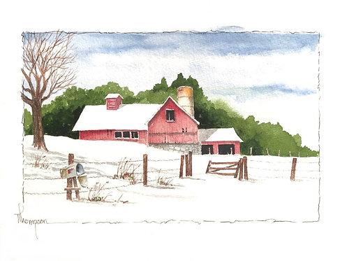 """Christmas Morning at Clark Station"""