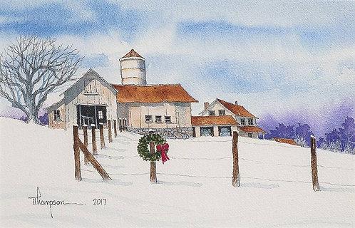 """""""Christmas Barn"""""""