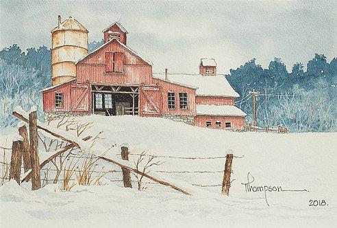 """Main Barn at Clark Station"""