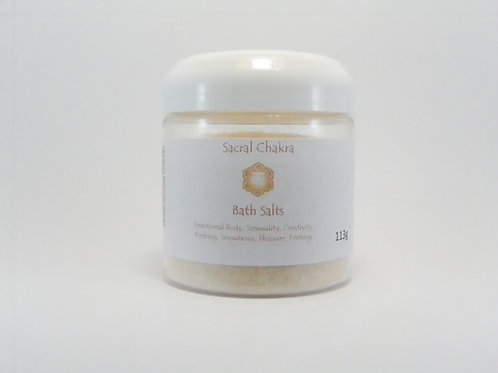 Sacral Chakra Bath Salts 113g