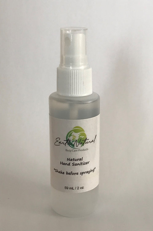 Natural Hand Sanitizer - NO Alcohol-59 ml