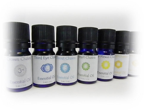 Chakra Essential Oil Collection