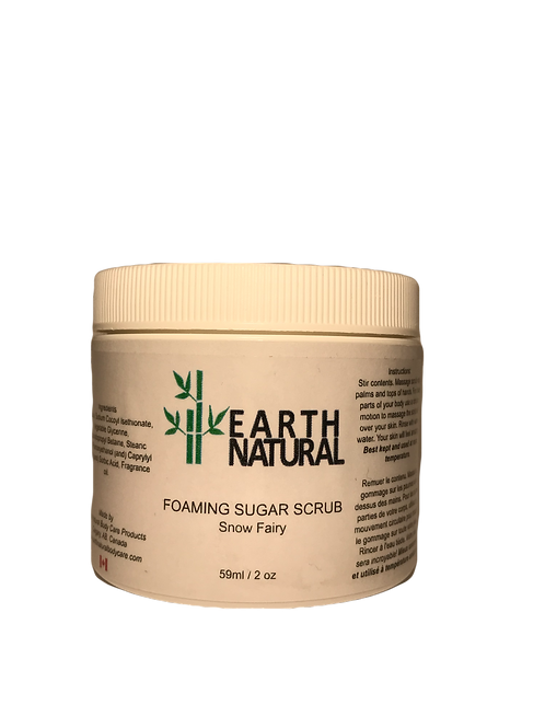 Snow Fairy Foaming Sugar Scrub