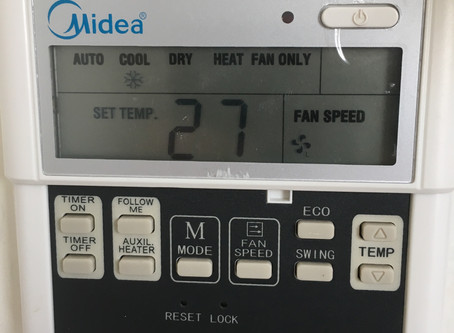 WWTT??? It's Cold! A Story of an Air Conditioner control panel