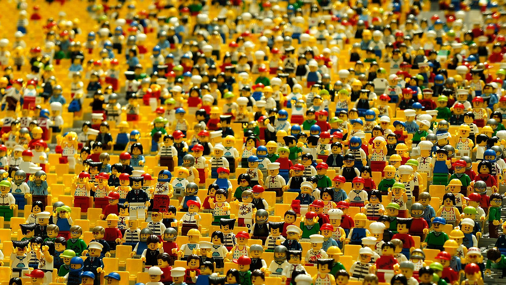 Many Lego People, From pixabay.com, CC0 Public Domain