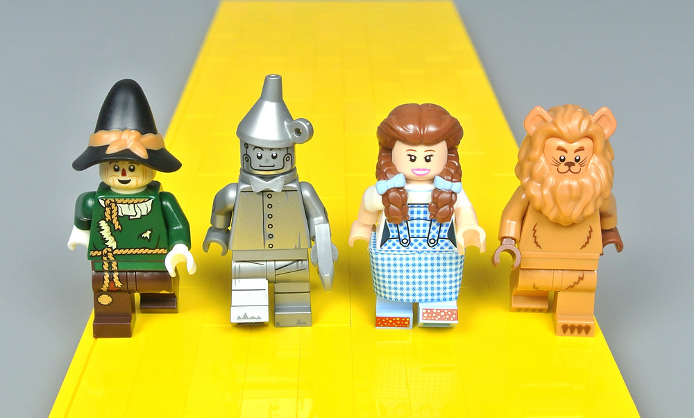 Wizard of Oz Lego characters