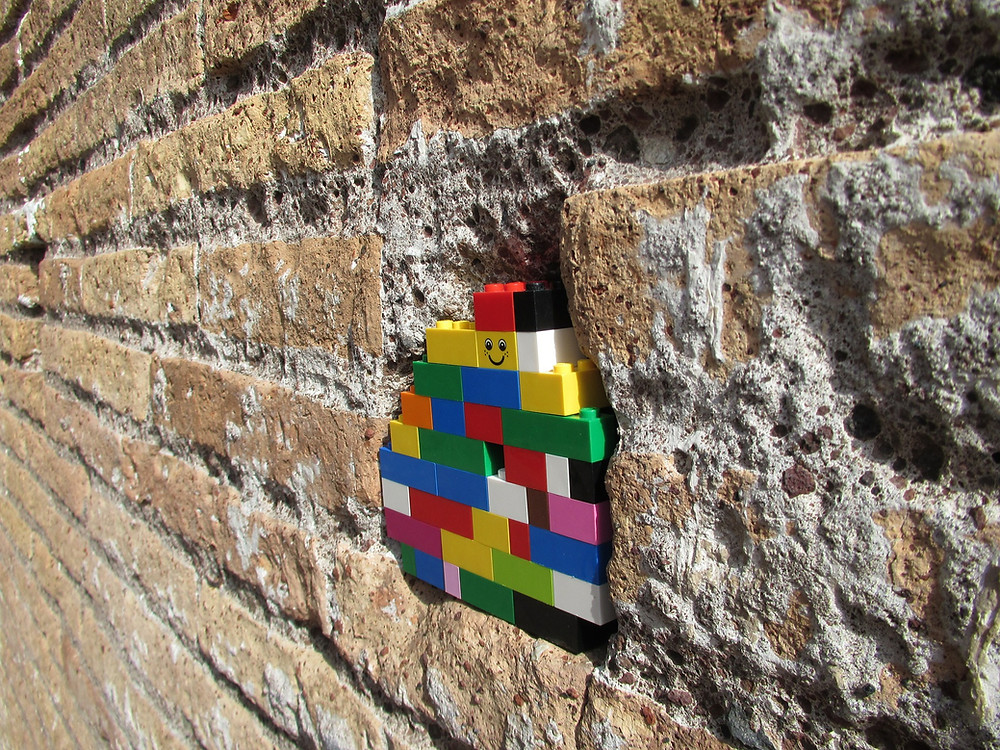 Lego Brick in the Wall