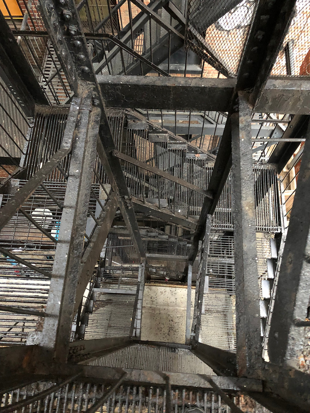 מדרגות בניו-יורק