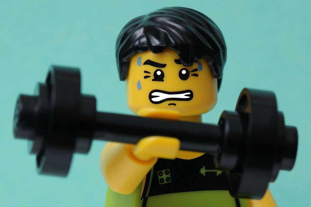 Exercising in Easy...
