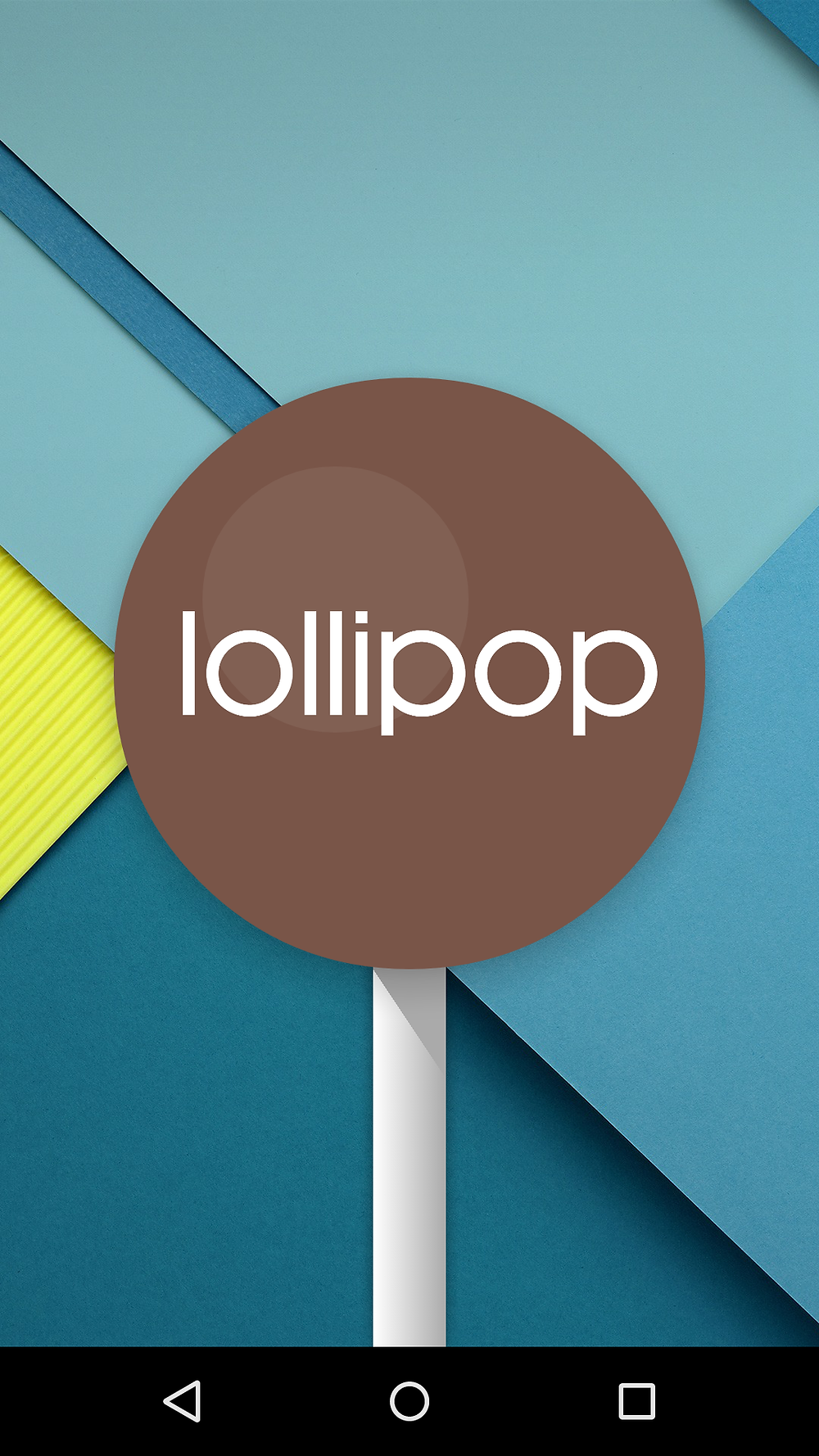 The Lollipop Easter Egg Screen