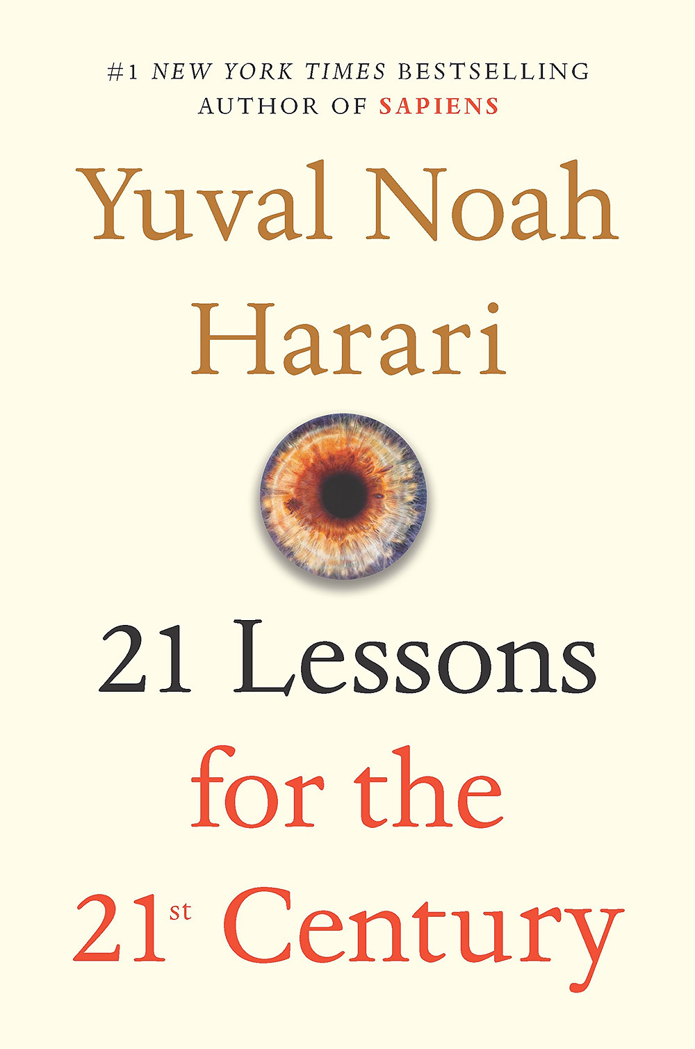 21 Lessons for the 21st Century - Book Cover