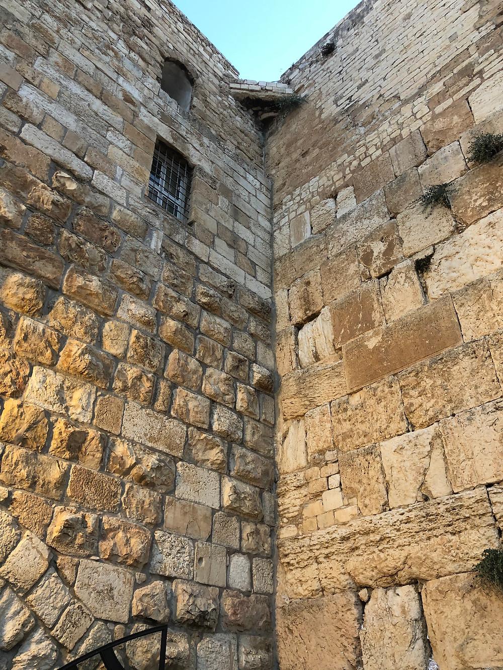 Wailing Wall, External section