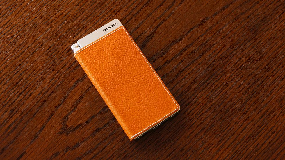 イタリアンレザーオレンジ HA-2シリーズ外装貼替え