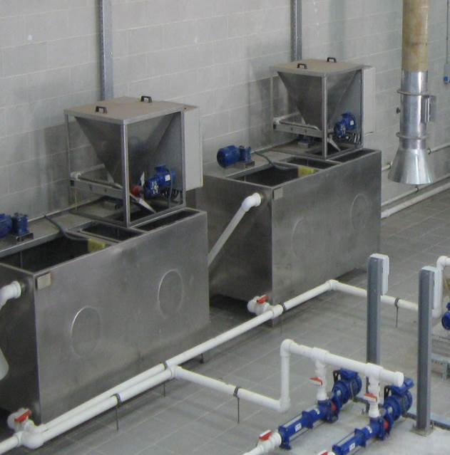 AUTOMATIC ELECTROLYTE PREP UNIT