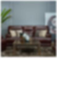 YORK Leather Sofa