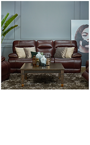 YORK Leather Sofa