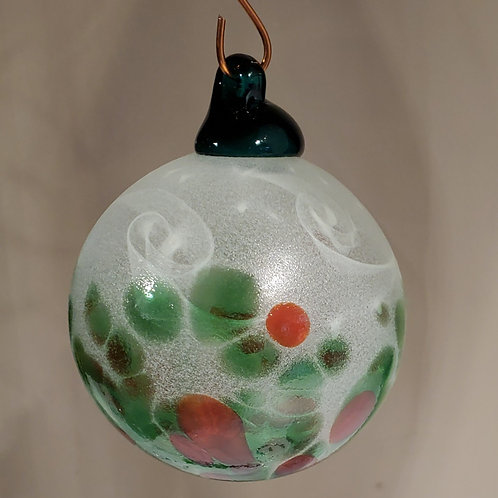 2020 Ornament: Holly Starry Night
