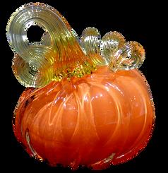 Blow Your Own Ornament Option - Mini Pumpkin