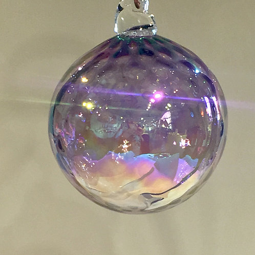 Faceted Glass Ornaments