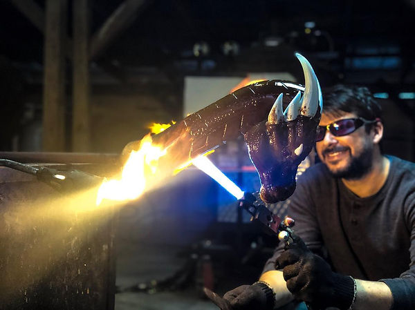 SculptingDracoTheDragon-in action.jpg