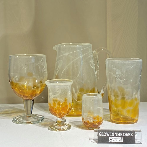 """""""Starry Nights"""" Drinkware - Golden Honey"""