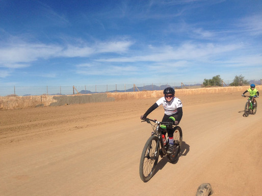 Oudtshoorn Youth Festival Cycling event