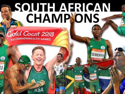 Memorable 2018 Commonwealth Games for Team South Africa in Australia, Gold Coast