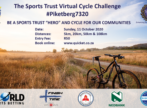 The Sports Trust Virtual Cycle Challenge Piketberg Press Release