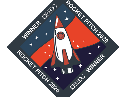 Rocket Pitch 2020 1st Place Winner!