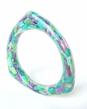 Upcycled Beach Plastic Jewelry - Bermuda