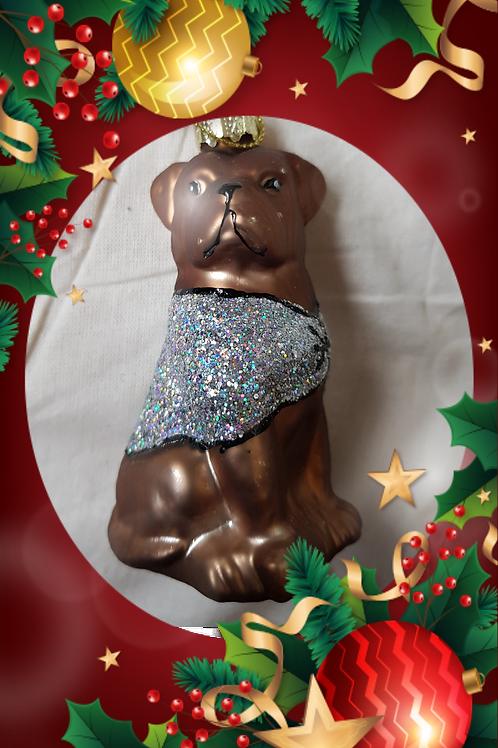 Hund, pynt til juletreet