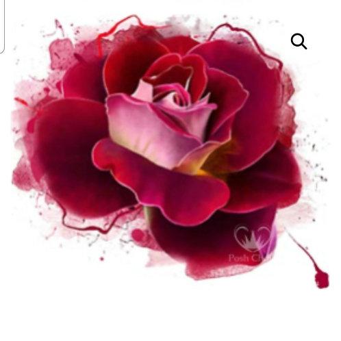 Tynt rispapir,  Radiant Rose, WB