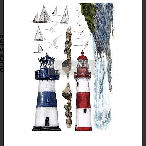 Transfer, lighthouse,  Prima
