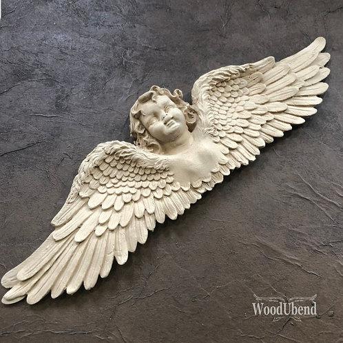Stor engel 42,5×11,5 cm.WUB 0519