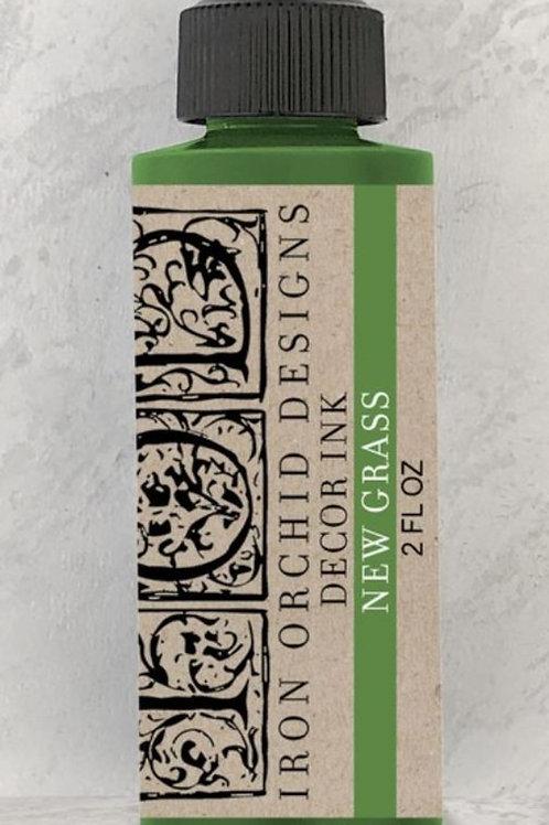 Maling grønt, stamp