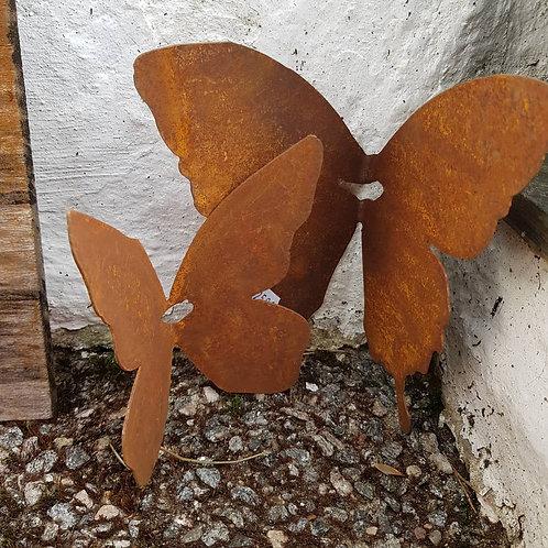 Rust sommerfugl stor