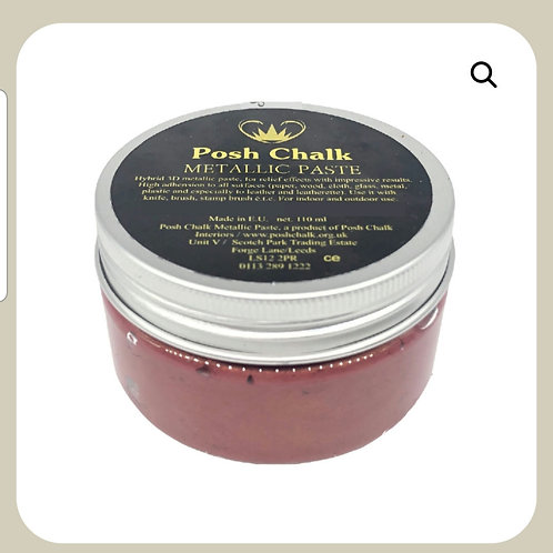 Posh chalk paste,  rødrust