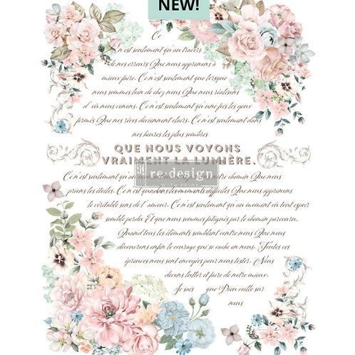 Transfer Pure Light Floral, Prima