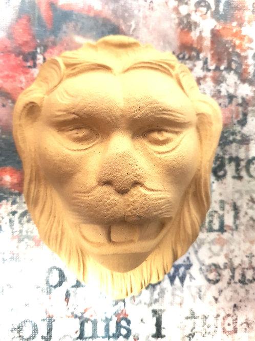 Løvehode 12×9,5cm . WUB1798